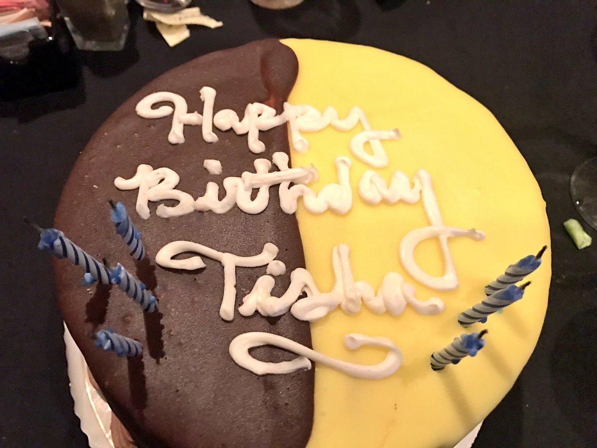 Tisha Powell On Twitter Birthday Cake For Dessert And Breakfast