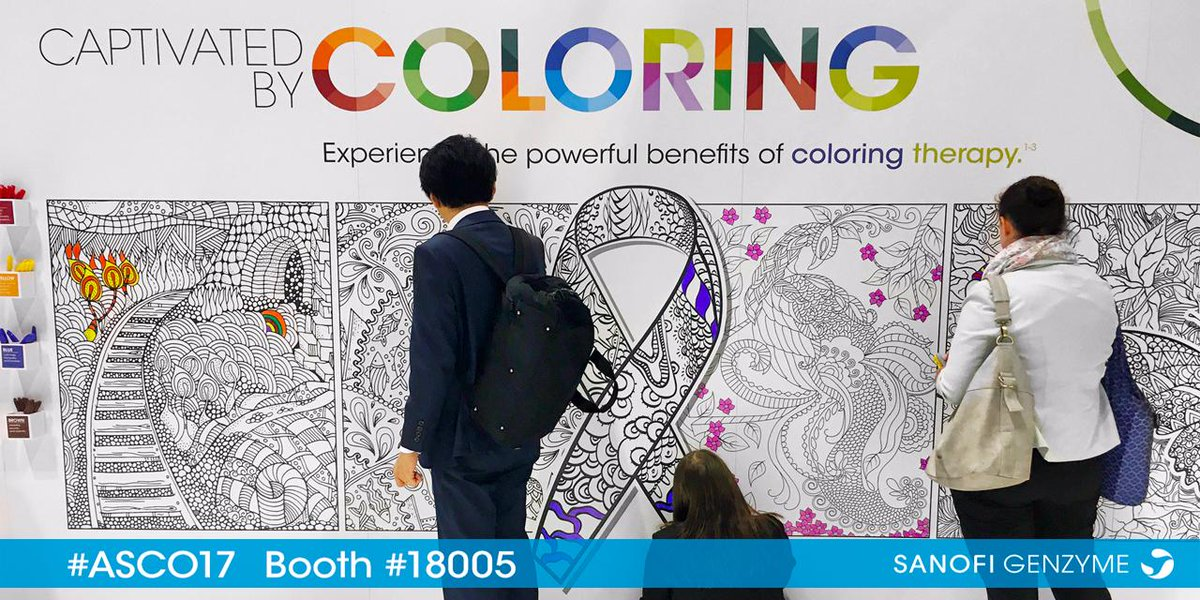 Sanofi Genzyme On Twitter Experience Coloring Firsthand And Help