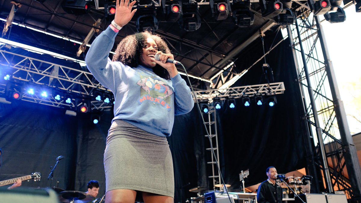 One of Chi-town's finest, @noname, makes a glorious return to #Philly for #rootspicnic with grooves and rhymes. https://t.co/4IHSJKKjCq
