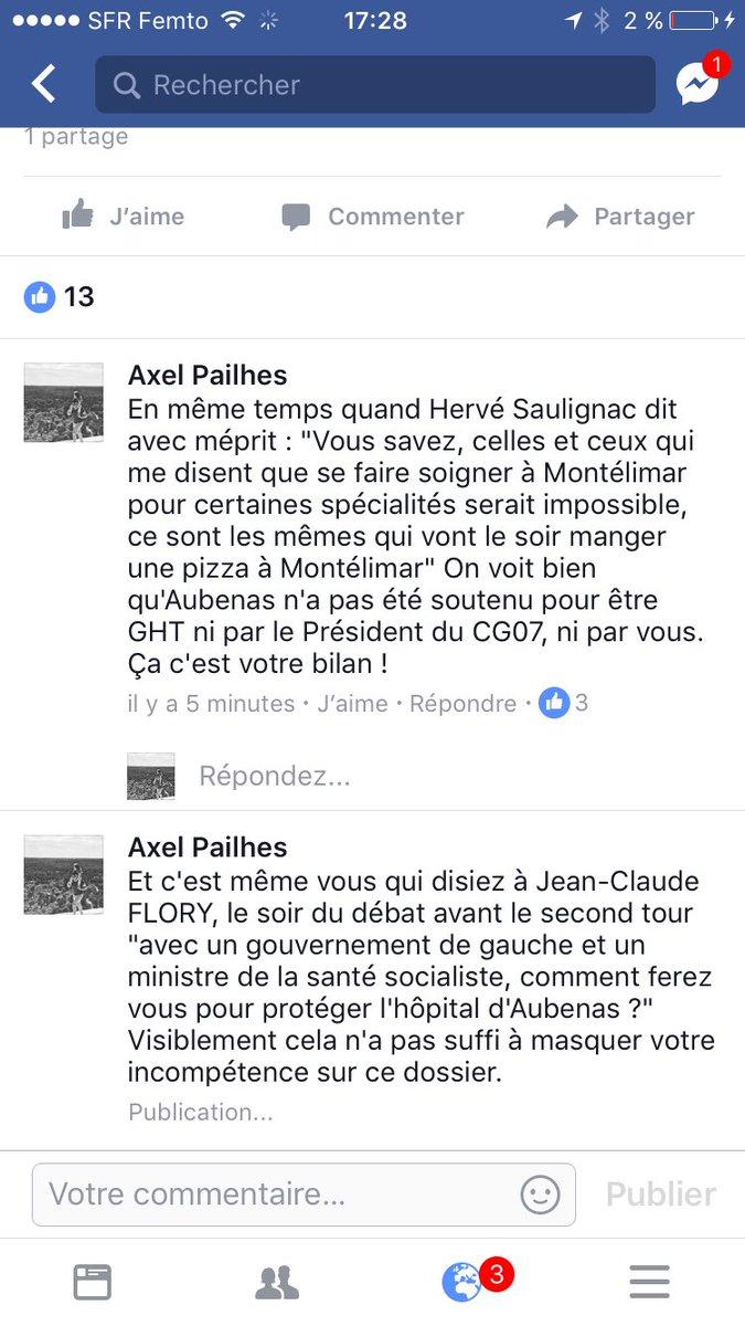 Quand la #Depute @BuisSabine supprime des commentaires... #Legislatives2017 #Ardeche #démocratiepic.twitter.com/hH8l6VxeP0
