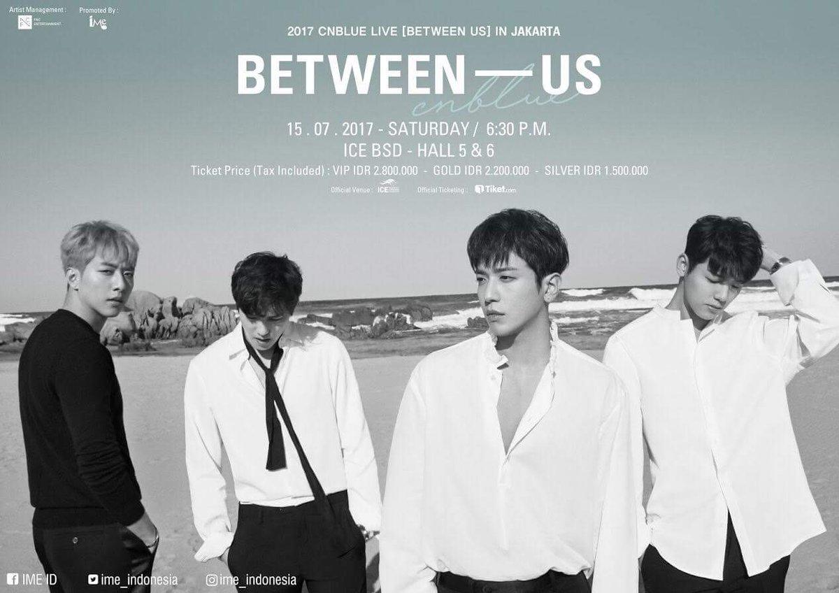 2017 CNBLUE Live Between Us in Jakarta(saungkorea.com)