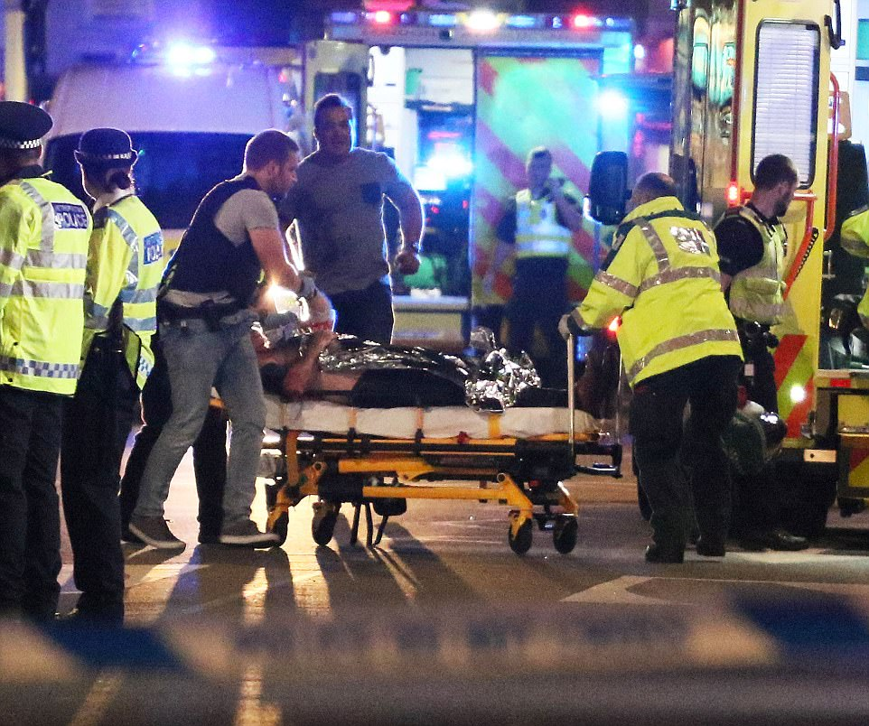 Jihadi terrorists shouting 'this is for Allah' have reportedly killed seven people in London https://t.co/CemQPeEEKc