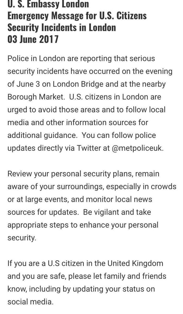 Emergency message for U.S. Citizens - please read + share: https://t.co/q6klShOZZ4 https://t.co/53L0TD0L7G