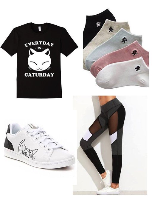 Cat Lovers #ootd #fashionpost #style #lookbook