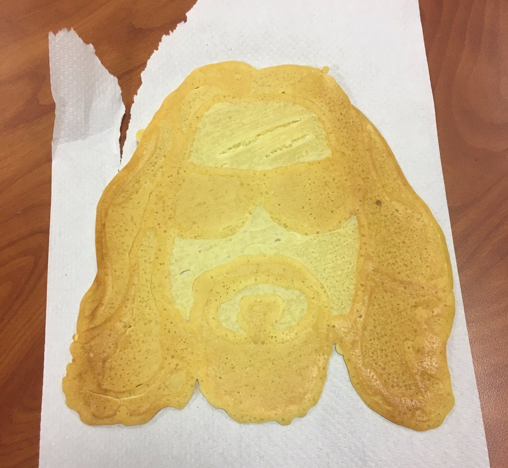 Pancake!Dude abides in #g4's #G4thering at #cwcon. This guy's ready to roll tonight. 🎳🍻He was delicious. https://t.co/9J9t3HSlRm