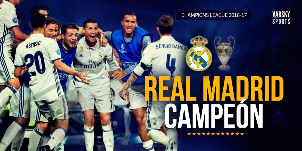 Varskysports على تويتر Final Real Madrid Es El Campeon De La