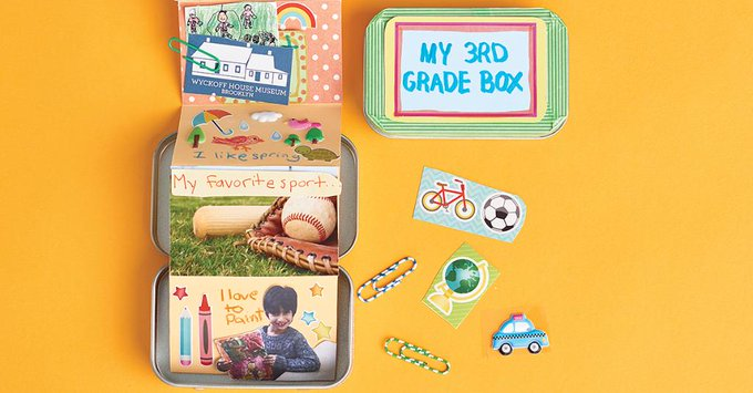 Crafts: Miniature Memory Tins