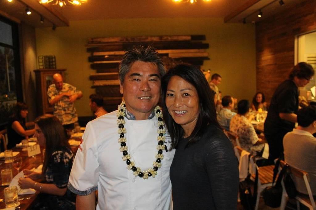 Denise and I had a wonderful time at the #EH1849Kapolei Grand Opening. #AlohaInside #SaturdayShenanigans. https://t.co/hMIbrqlNb0