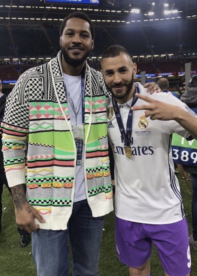 ¿Cuánto mide Carmelo Anthony? - Altura - Real height DBbsAUaXUAEbqmK