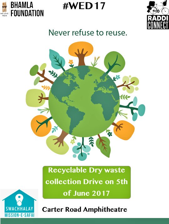 rt swachhalay never refuse to reduce reuse recycle  rt swachhalay never refuse to reduce reuse recycle participate in the papercollectiondrive by donating your raddi to t co gjpj6socvd