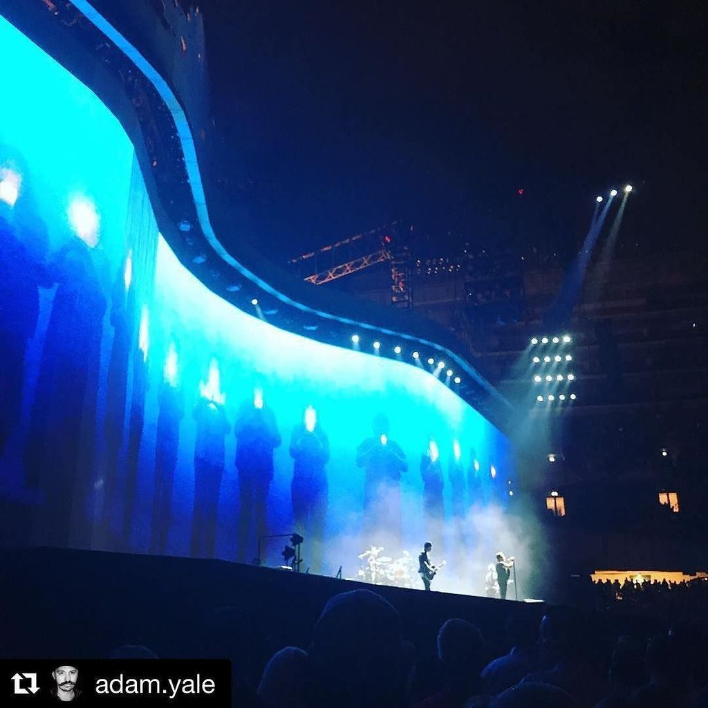 Photo from #U2TheJoshuaTree2017 on Twitter by LeclercLaurent