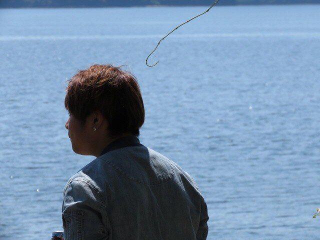 徳山、笠戸、虹ケ浜でパシャリ 1人で遊ばされる辛さ( ̄▽ ̄) https://t.co/8sMgzrVx7o