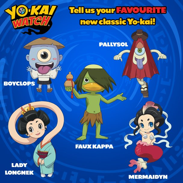 yo kai watch uk on twitter just for fun tell us who is your