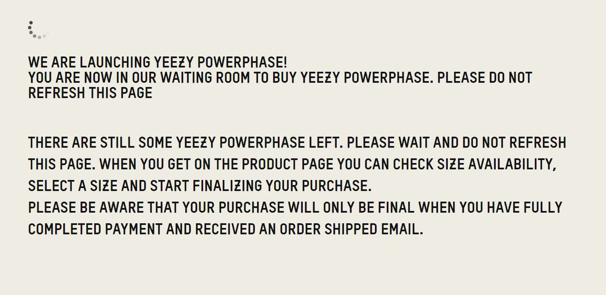 adidas yeezy queue online
