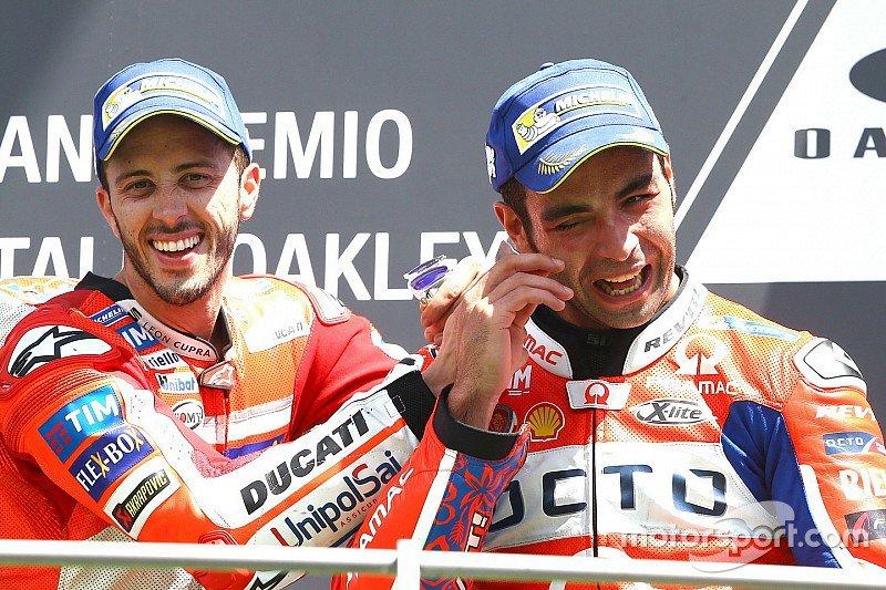 MotoGP Italia: Dovizioso su Ducati trionfa al Mugello