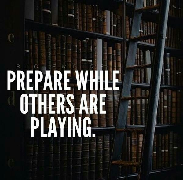 &quot;Prepare while others are Playing.&quot; #sundaymotivation #goalsonsunday #ThinkBIGSundayWithMarsha<br>http://pic.twitter.com/l9FIaBANPN