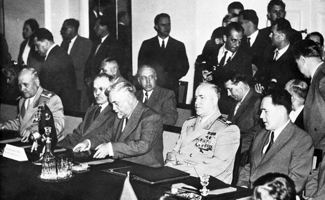 Варшавский договор был заключен
