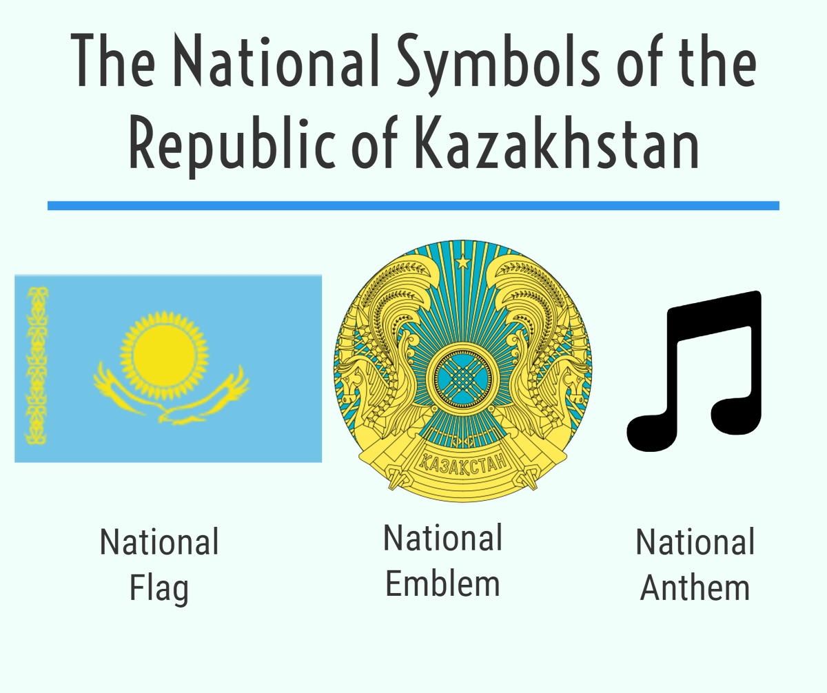 Kazakhstan On Twitter Today Is National Symbols Day In