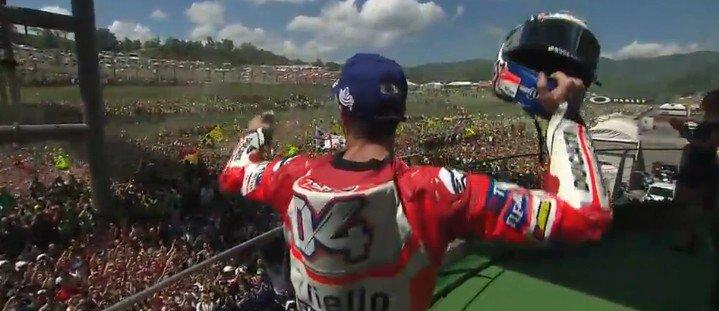 MotoGP Mugello: Vince Dovizioso, Vinales e Petrucci sul podio, Valentino quarto