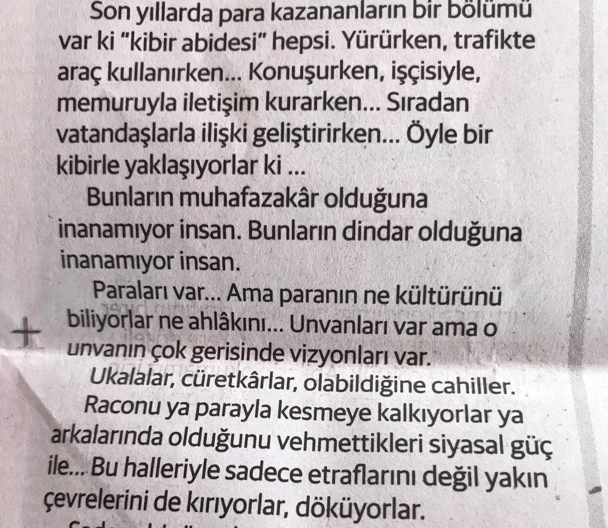 Yeni şafak, Hasan Öztürk