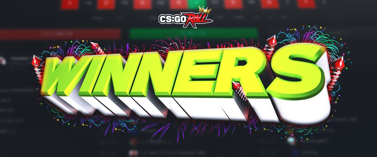 csgoroll giveaway csgoroll on twitter quot 100 000 giveaway winners 7921