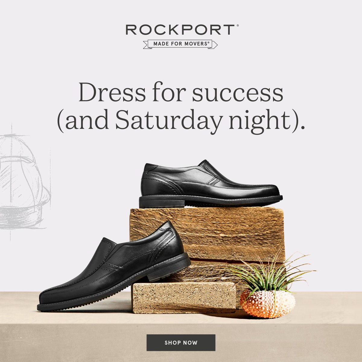Rockport Week at Boscov's! Treat Dad