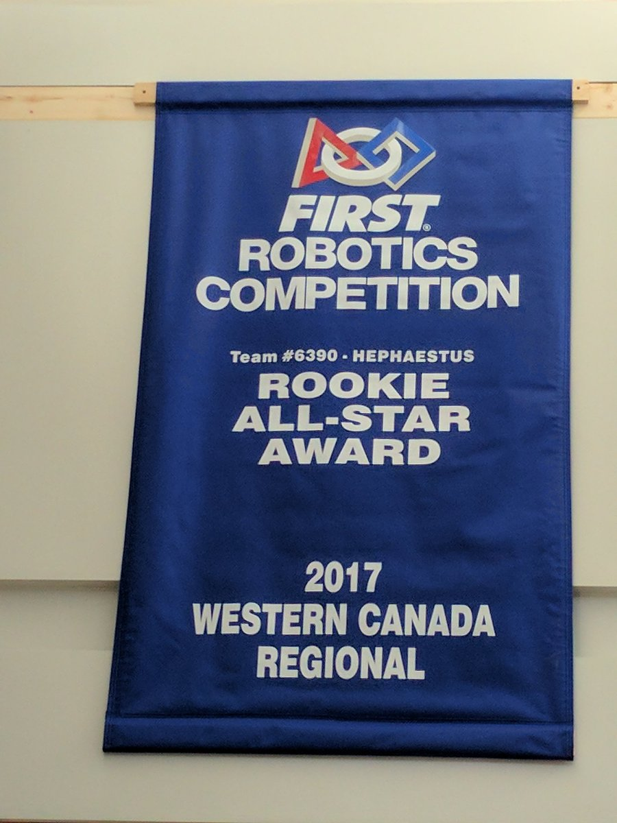 Frc 6390 Hephaestus On Twitter Our First Event Banner Hanging In