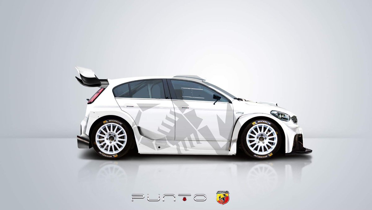 "Nuova Punto Fiat 2018 >> Tom ¨nn on Twitter: ""2018 Fiat Punto Abarth #WRC... Yes please! What do you think, @voiceofrally ..."