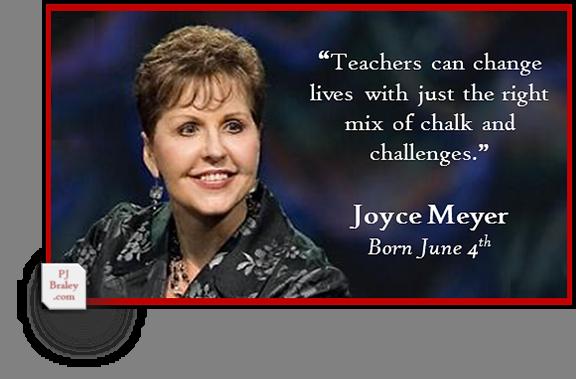 Happy Joyce Meyer, American author and -  on