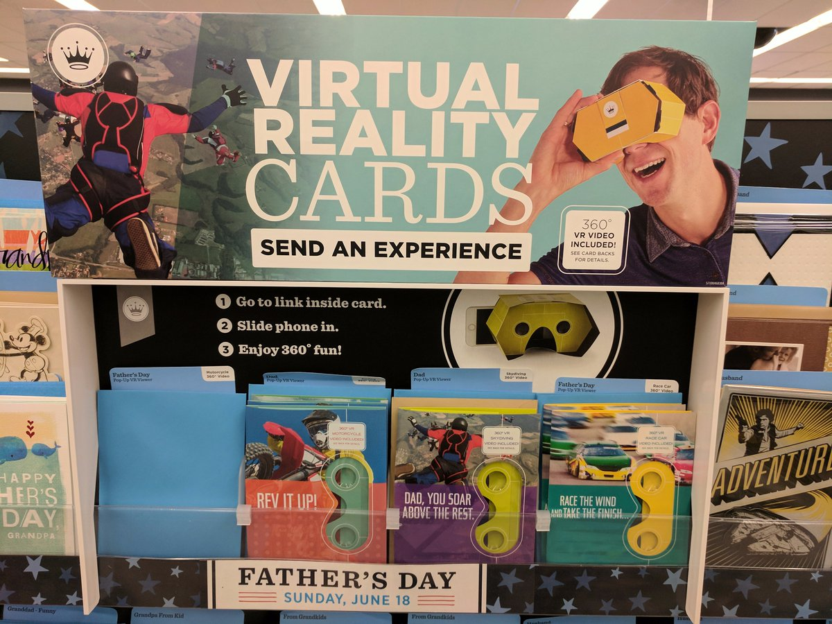 I'm a huge proponent of putting VR in weird places (see: JavaScript) but... this is getting kinda silly. #CardboardAllTheThings?