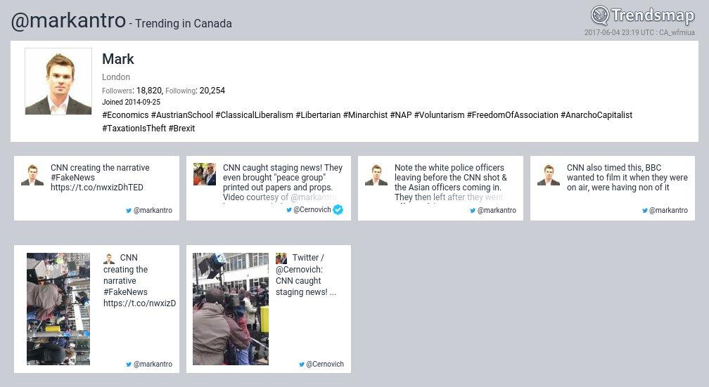 Mark, @markantro is now trending in Canada  https://t.co/WZZqFu9E6u https://t.co/23eZNLQe0i