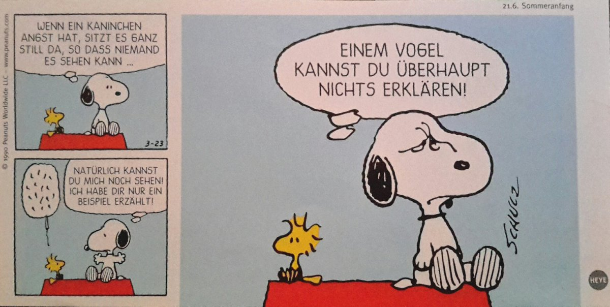 Donertier Marie On Twitter Peanuts German Fun Comic Part 7 Of 12