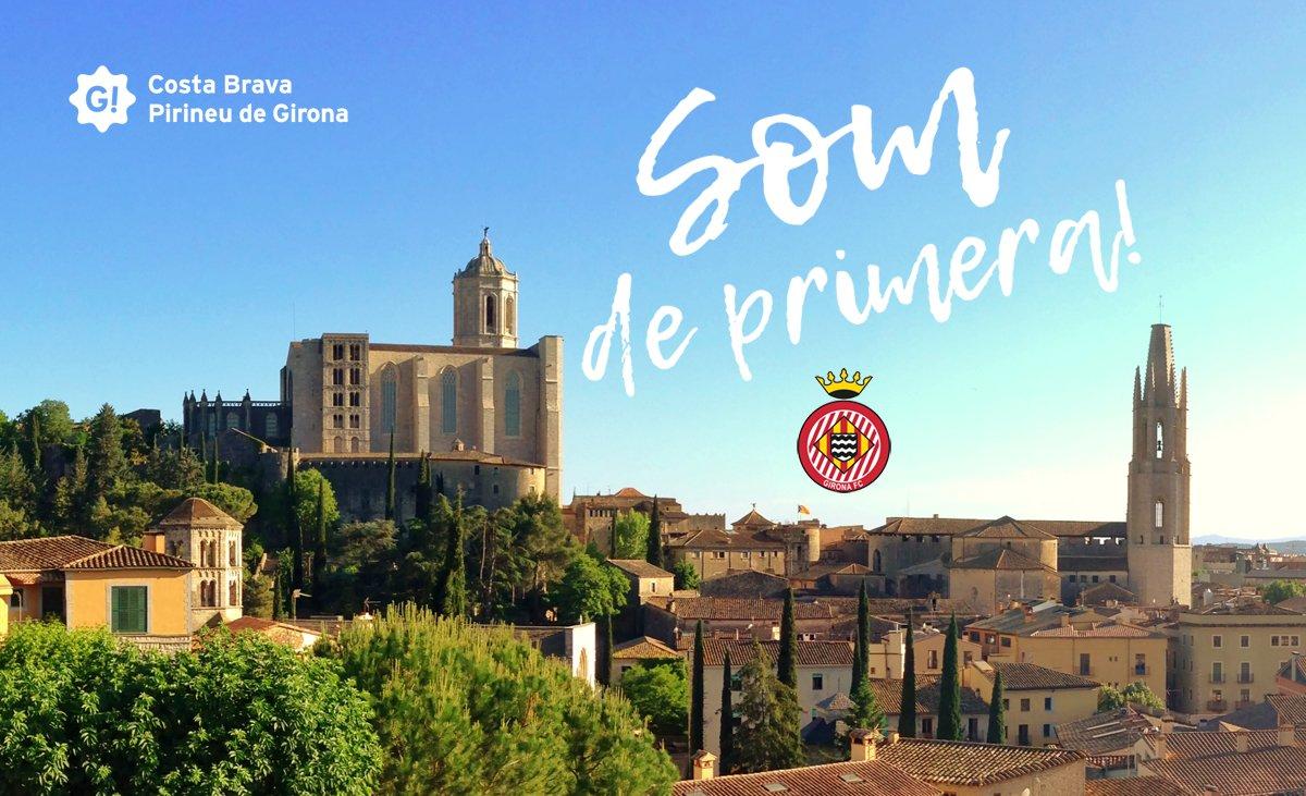 Siiiiiiii!!!! Enhorabona @GironaFC  SOM DE PRIMERA!! https://t.co/QlKeEP5mjG