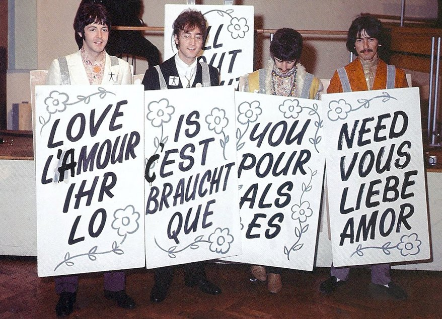 John Lennon On Twitter All You Need Is Love All You Need Is Love All You Need Is Love Love Love Is All You Need Onelovemanchester