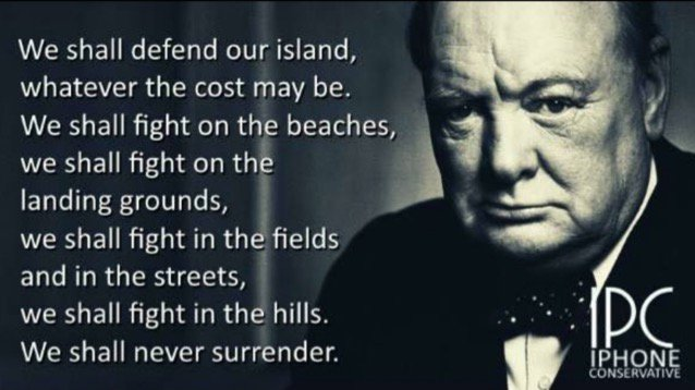 This more relevant today than it was in 1940 #wewillneversurrender https://t.co/5cOr6MaGt6