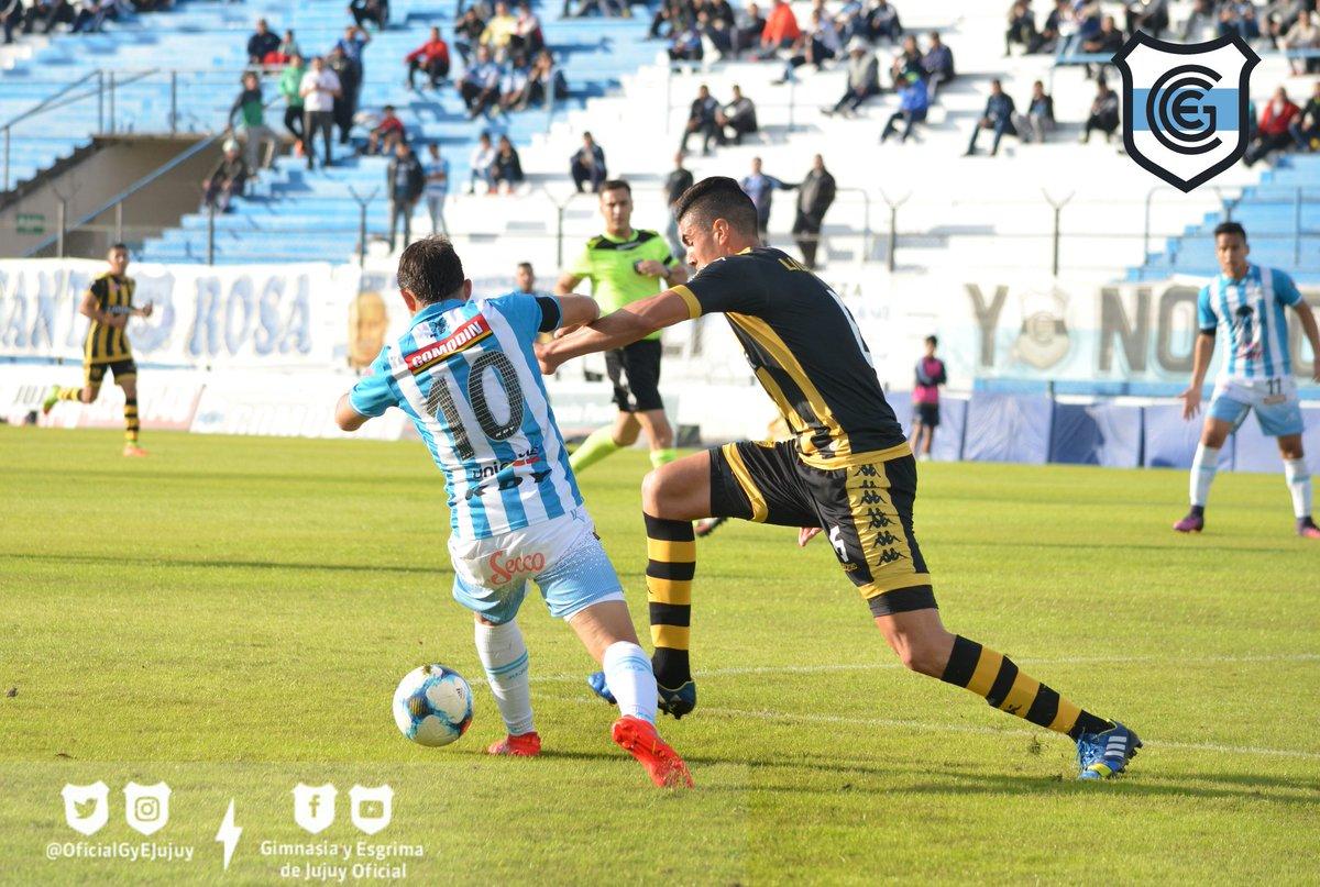 Ascenso del Interior · Gimnasia y Esg. (Jujuy) 1 - 0 R. Santamarina (Tandil)