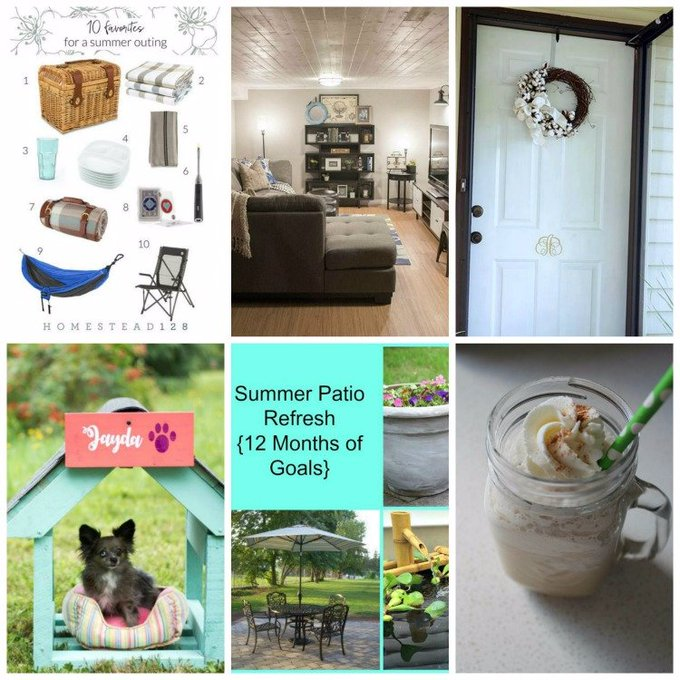 The Creative Corner Link Up Party & Weekly Recap