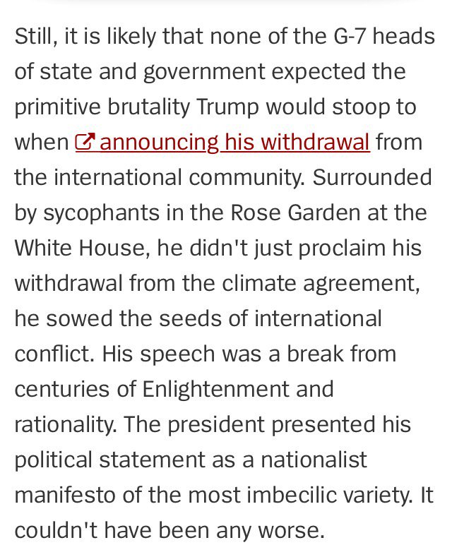Der Spiegel got leaked the G7 climate minutes. They don't mince words in their conclusion https://t.co/5t5RHu7RWD