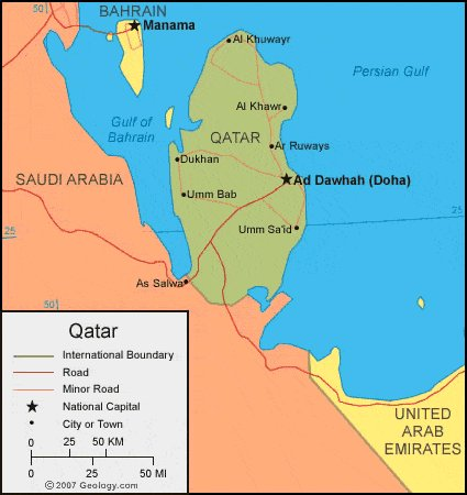 Comfortably Smug On Twitter The UAE Bahrain Saudi Arabia And - Map of qatar and egypt