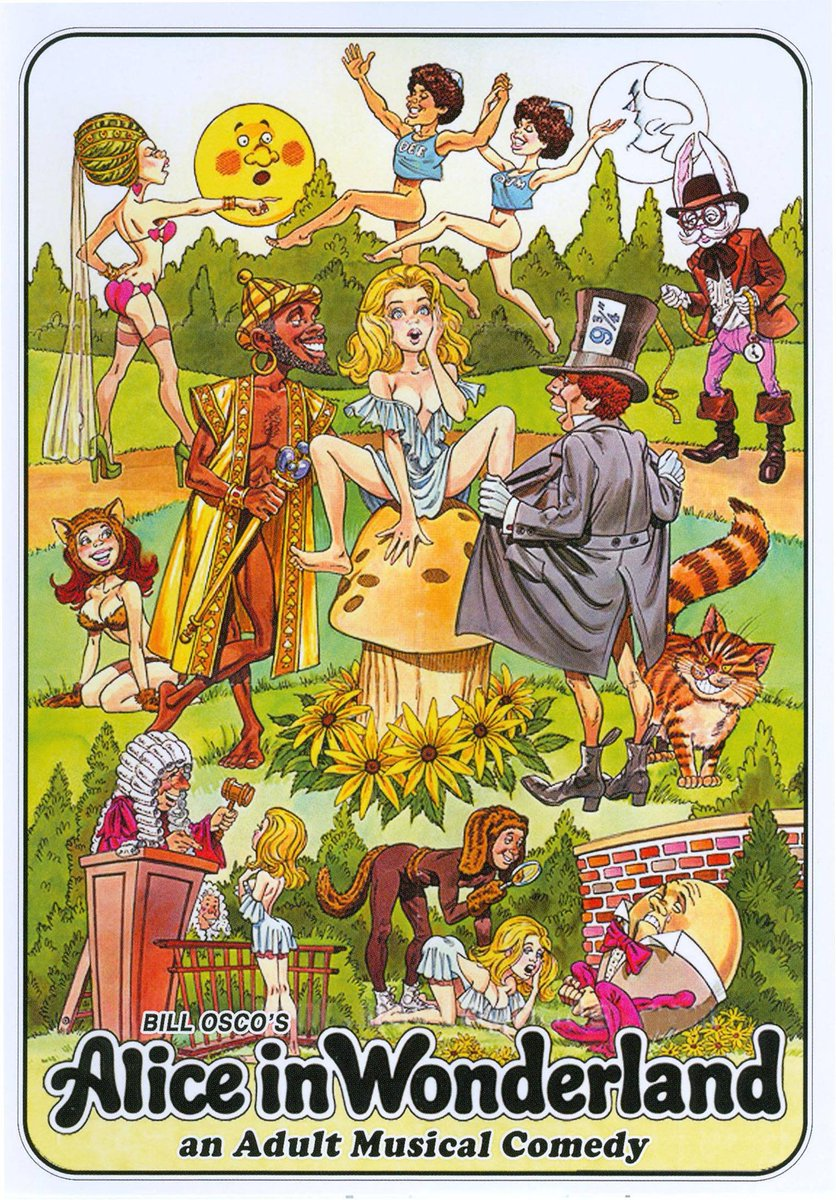 "Alice In Wonderland A Musical Porno 1976 jake wagner on twitter: ""alice in wonderland (1976) x rated"
