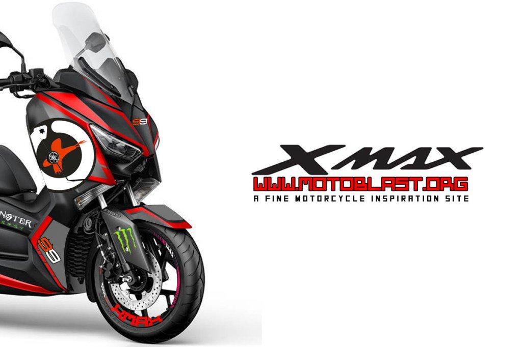blog motoblast  twitter modifikasi striping yamaha