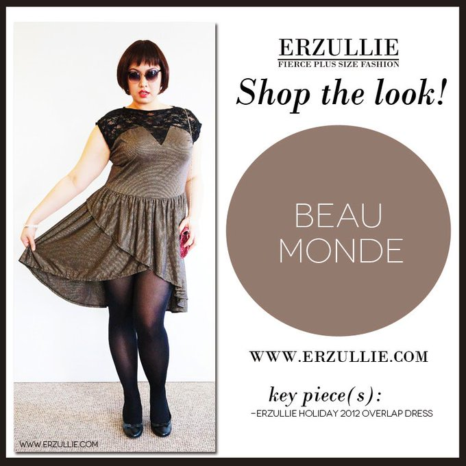 "PLUS SIZE STYLE: SHOP THE LOOK! ""BEAU MONDE"""
