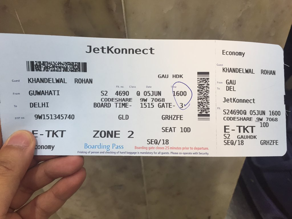 Jet Airways On Twitter Rohan We Ve Checked This Up And Your