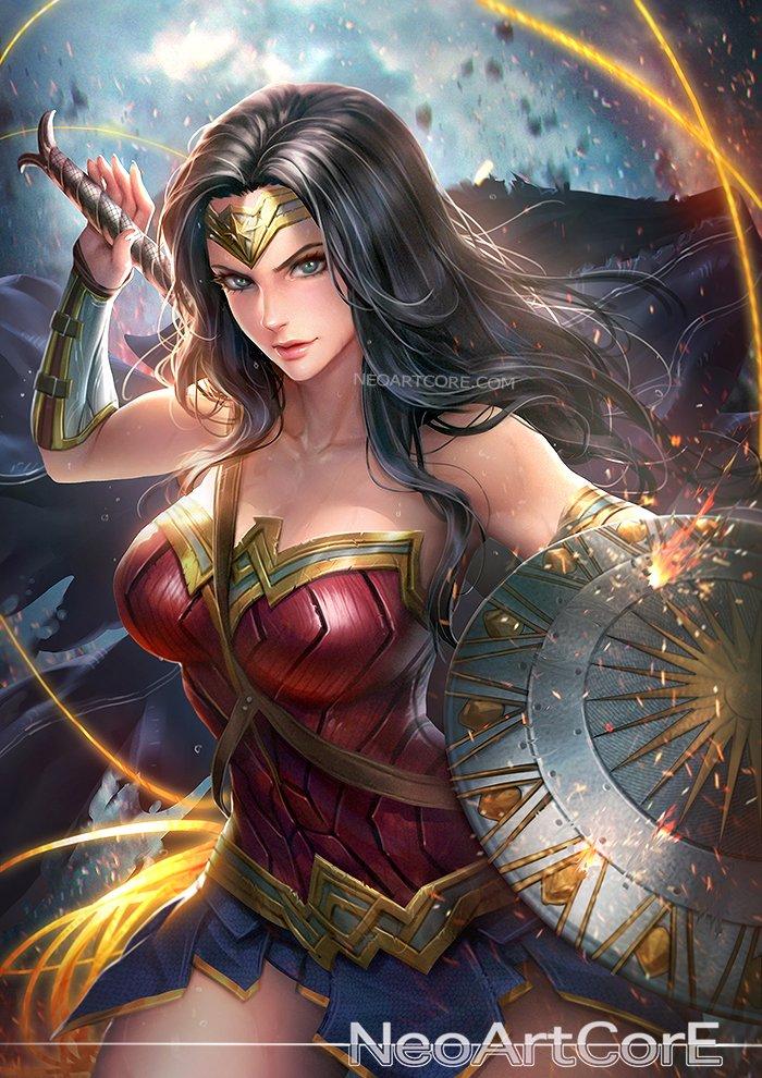 Neoartcore Di Twitter Fanart Wonder Woman From Wonder Woman 2017 Wonderwoman Fanart Neoartcore
