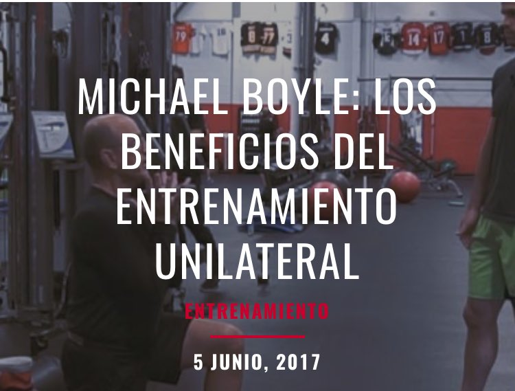 Mike boyle entrenamiento funcional