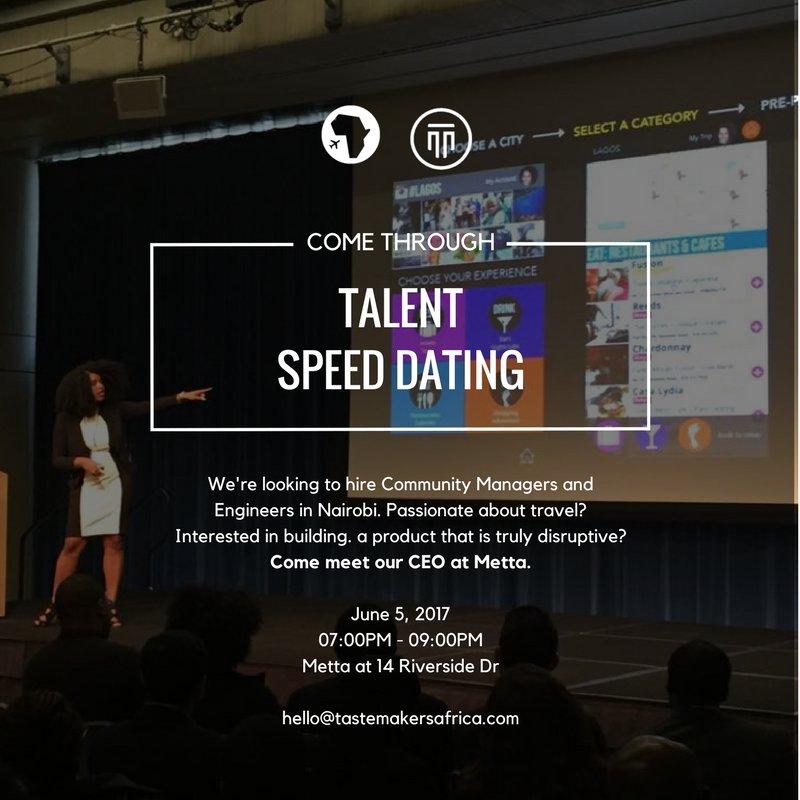 speed dating i nairobi