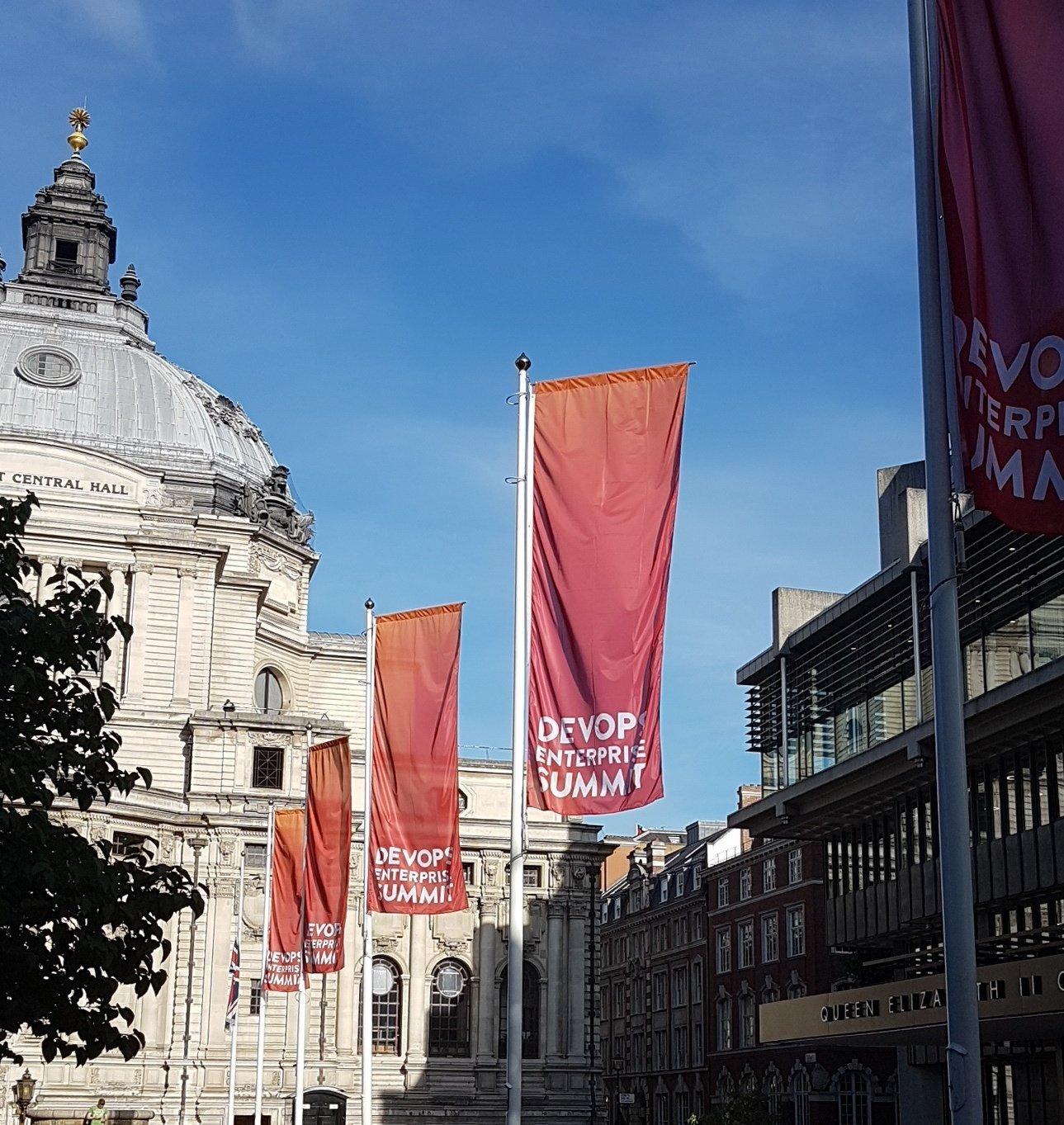 Lookong forward to Devops Enterprise Summit 2017 in London today #DOES17 https://t.co/wWNxs6uyYV