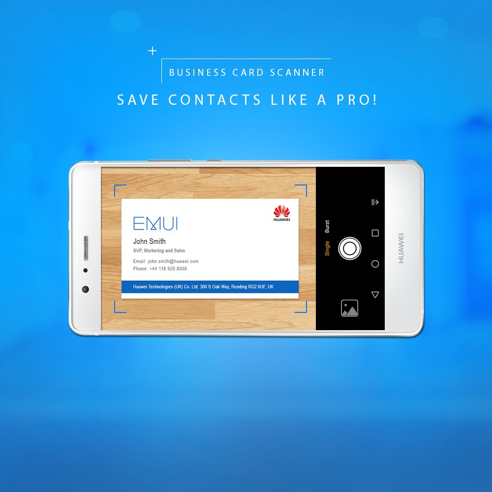 Emui on twitter save time create new contacts by scanning 1226 am 5 jun 2017 colourmoves