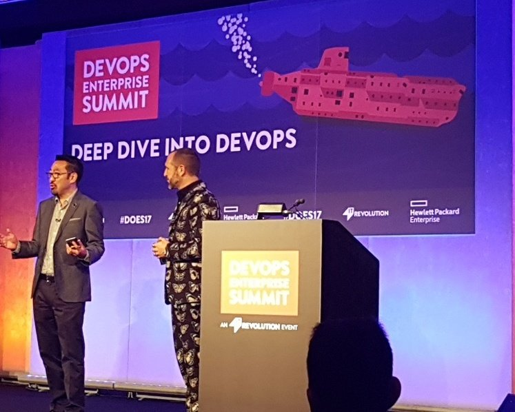 Opening session of #DOES17 with @RealGeneKim https://t.co/Tjmob8EYT6