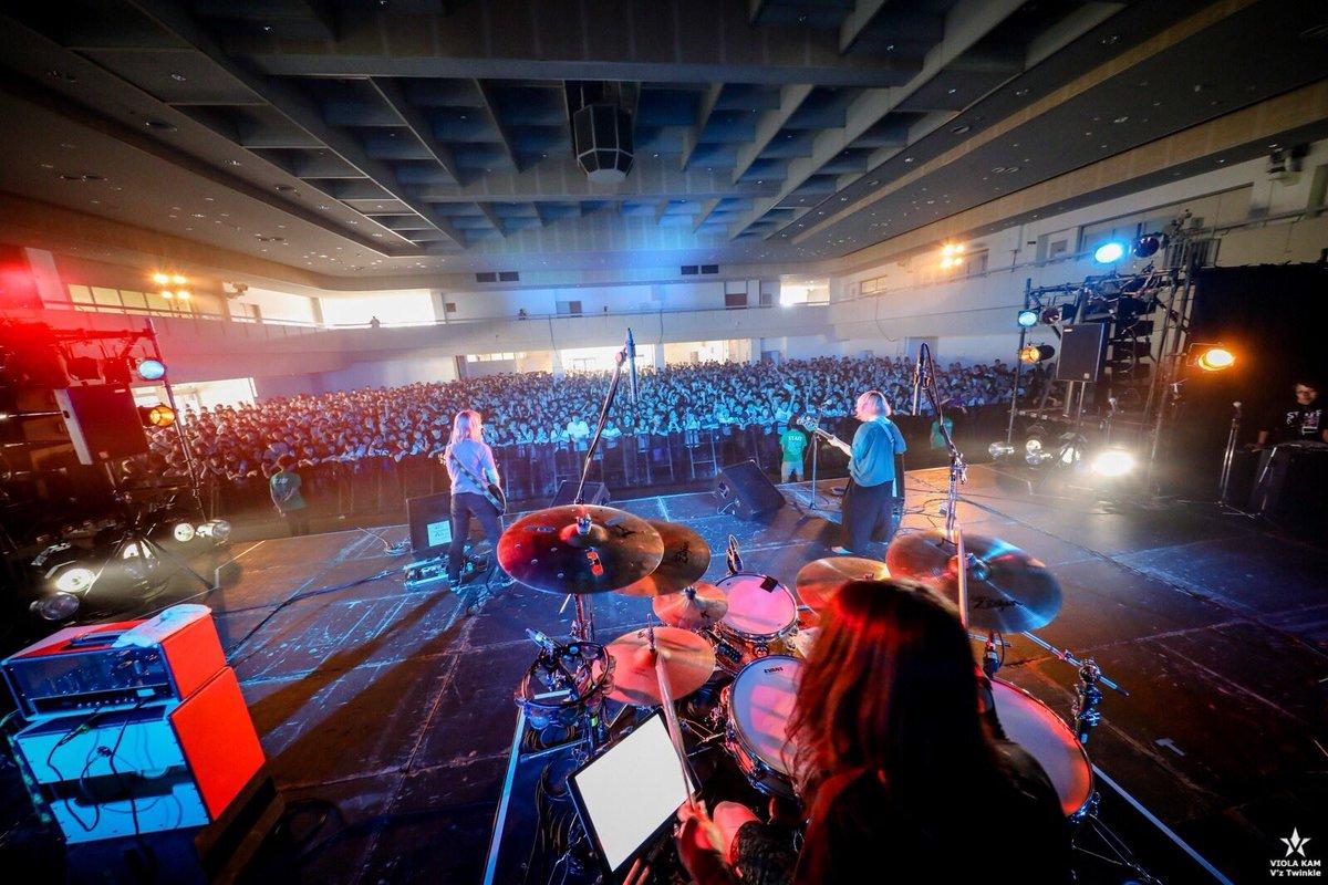広島ワンマン、岡山のSIX LOUNGEファイナルシリーズ、ミリオンロックとありがとうございました☺️  写真はミリオンロック🎊photo by @vizkage